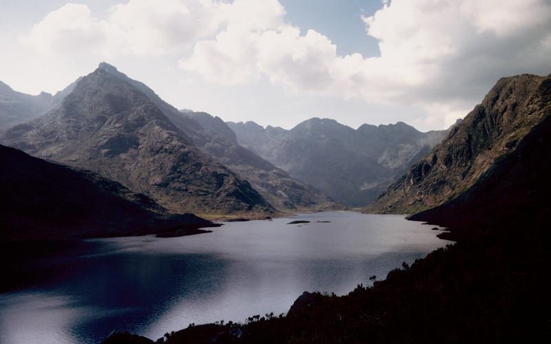 Loch Coruisk, Dubh ridge & main ridge