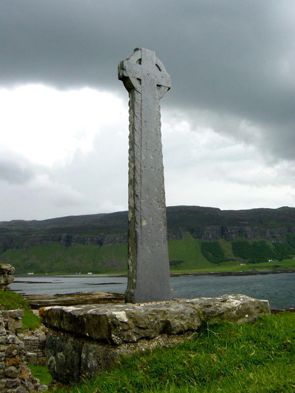 Celtic cross - Inch Kenneth