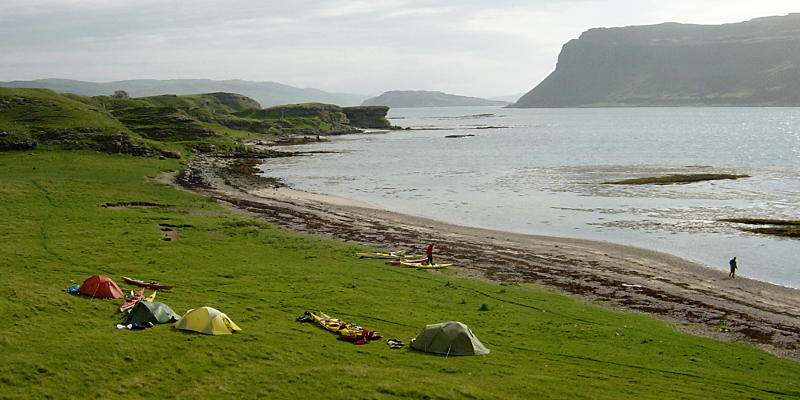 Inch Kenneth campsite