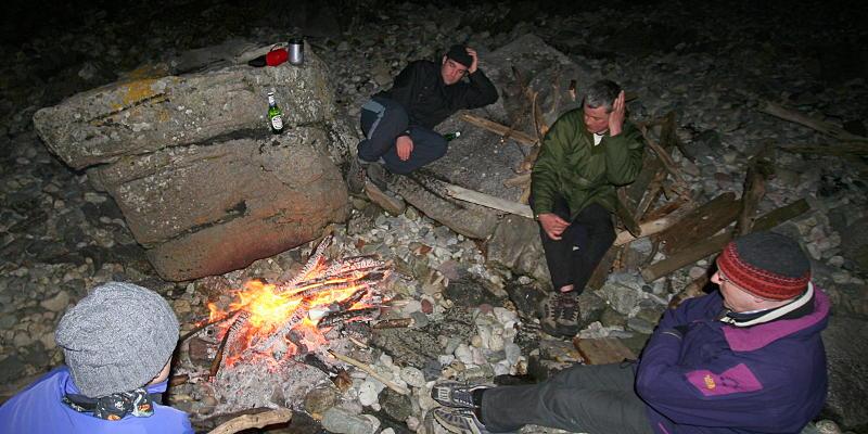 No shortage of firewood on Arran. Photo: Andy Waddington