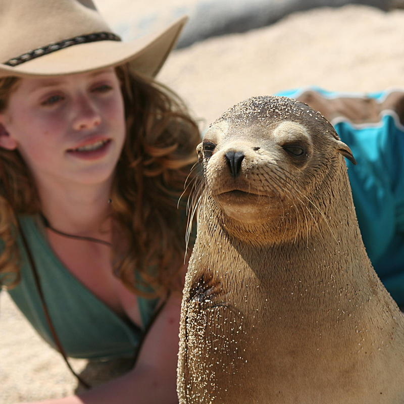 Sealion and Sarah