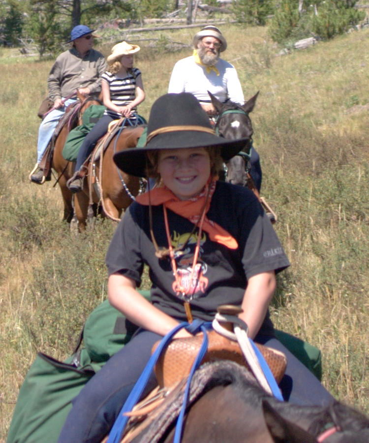 Riding in Yellowstone